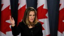 Canada's FM calls for 'transparent' probe into missing Saudi journalist