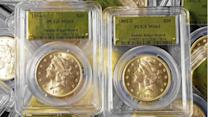Gold coins found in Sierra weren't stolen from San Francisco Mint