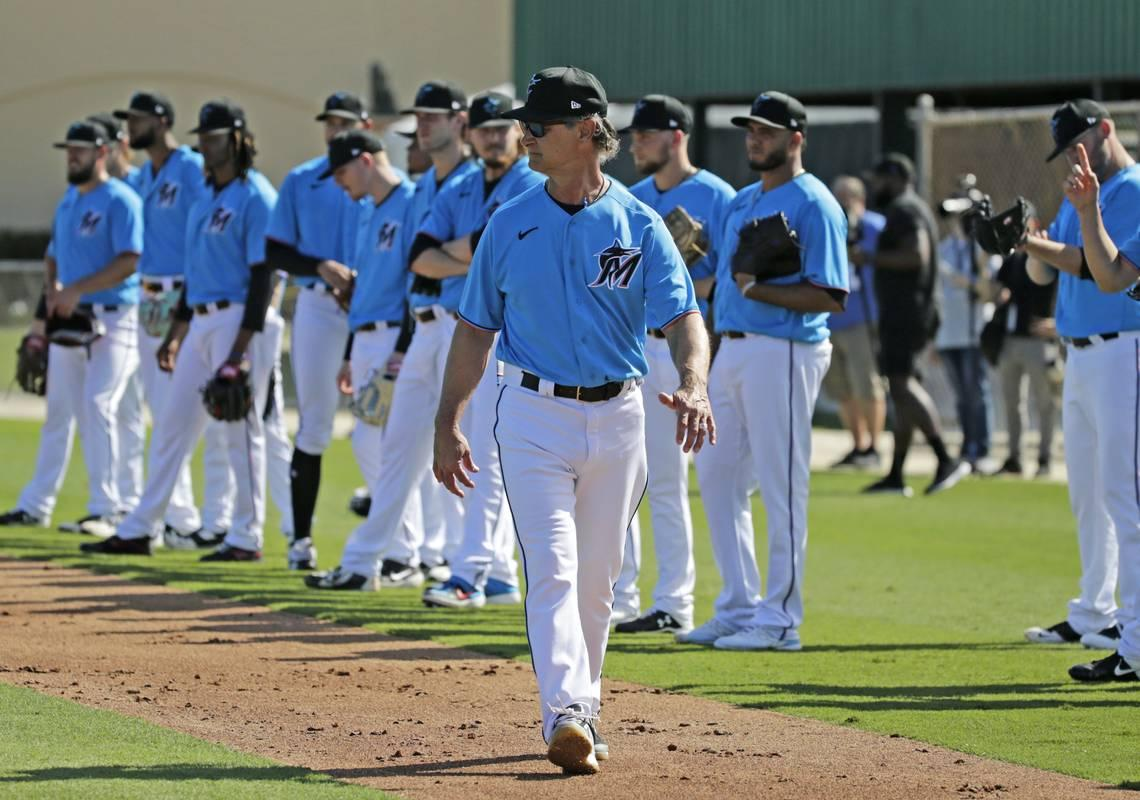 The Marlins return to the field for team workouts Friday. Here's what you need to know