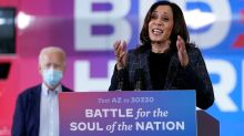 Kamala Harris has awkward moment at NC event, says election 'ends in 19 days'
