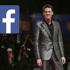 Jim Carrey's big Facebook Trade