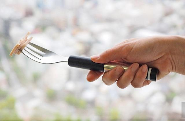 Dining with the electric fork that could save lives