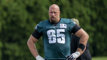 Lane Johnson's rough season with Eagles is over