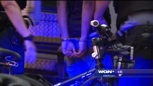 Juveniles arrested for obstruction of traffic, recklessness, on Mag Mile