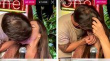 Ivete Sangalo e Daniel Cady se beijam após rumores de separação