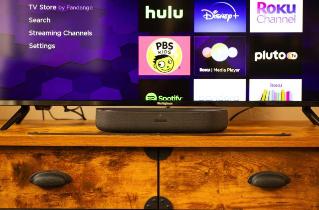 Roku's new $129 soundbar offers Dolby Audio and 4K streaming