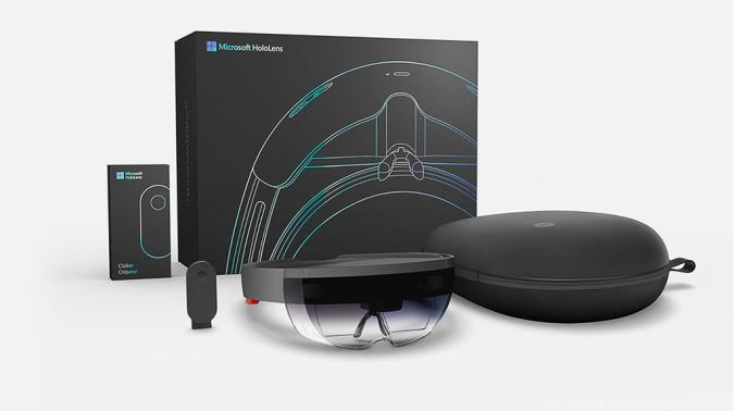 Microsoft's HoloLens starts shipping to developers today