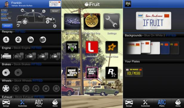 Grand Theft Auto 5 iFruit app available on select Android devices