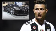 Cristiano Ronaldo drops $17 million on world's most expensive car