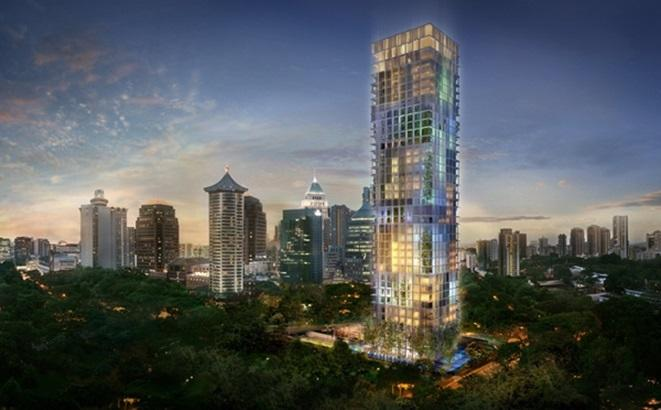 Singapore has 6 of 11 super penthouses currently on sale in the world