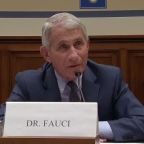 Dr. Fauci and Rep. Jordan have a tense exchange over limiting protests because of the coronavirus