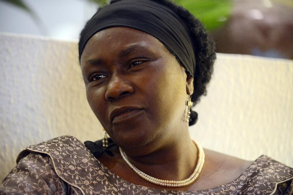 Remi Sonaiya is the only female candidate in this year's presidential election in Nigeria (AFP Photo/Pius Utomi Ekpei)