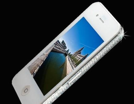 iPhone 4 Diamond Edition: white, unlocked, and $20k