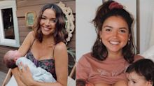 'Bachelor' star hits back after followers say her 18-month-old is 'too old' to breastfeed