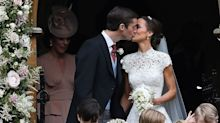 Here's Your First Look at Pippa Middleton and James Matthews as a Married Couple