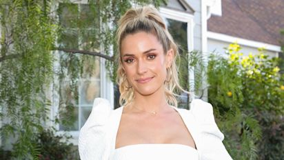 Kristin Cavallari embraced nautical vibes in a $280 swimsuit