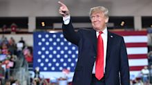 Trump on holding rally during hurricane: I couldn't disappoint my fans