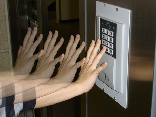 Fujitsu's PalmSecure takes high-speed, contact free biometric readings