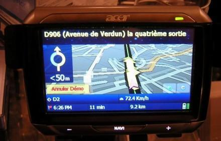 Acer drops P630 and P610 GPS units in Europe