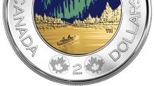 Glow-in-the-dark Canada 150 toonie now in circulation