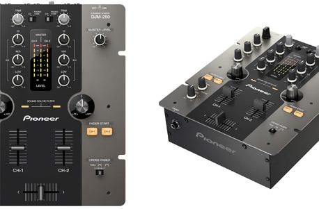 Pioneer's new DJM-250 budget mixer tries not to fade your balance