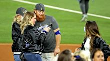 Dodgers Player Who Tested Positive for COVID Returned to Field to Celebrate Win