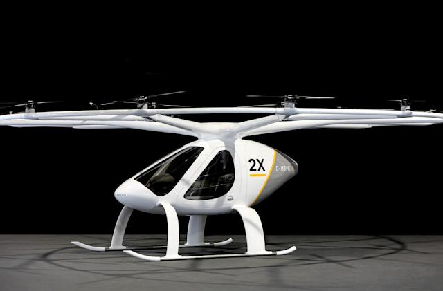 E-volo's electric 'air taxi' picks up passengers next year