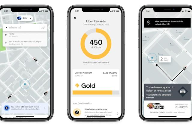 Uber launches a tiered rewards program in the US, just like Lyft