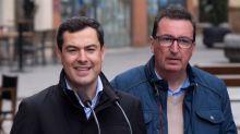 """Moreno confía en el voto oculto por la represión de los """"caudillos"""" del PSOE"""