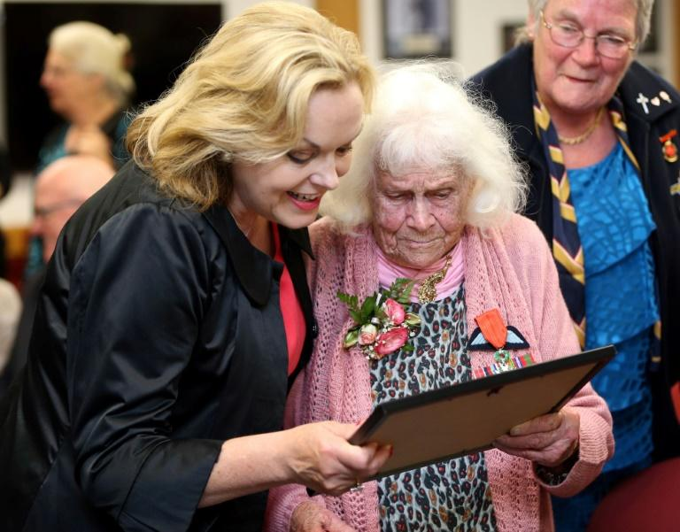 New opposition leader Judith Collins (left) faces an uphill battle, with her party lagging in the polls ahead of elections in September (AFP Photo/MICHAEL BRADLEY)