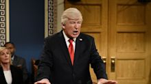 Alec Baldwin, who plays President Trump on 'SNL,' says he's 'overjoyed' to 'lose a job'