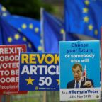 Divided Britain heads to the polls for EU elections it was not meant to hold