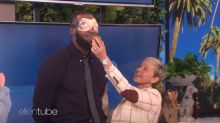 LeBron James completes dares on 'Ellen' for his I Promise School