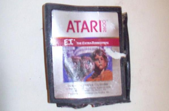 ET and other exhumed Atari games hit eBay