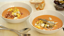 Chilled Spanish-Style Tomato Soup