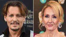 """J.K. Rowling verteidigt Johnny Depp als Cast für """"Phantastische Tierwesen 2"""""""