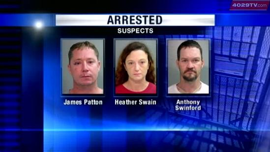 Four arrested on capital murder charges