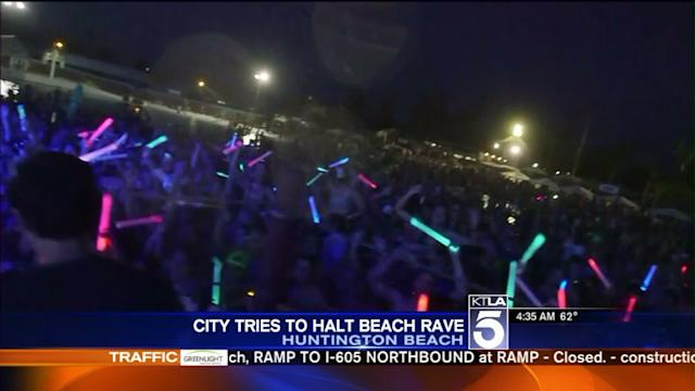 City Tries to Stop State-Sponsored Wet Electric Beach Rave