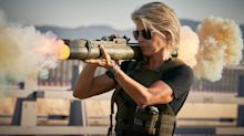 Linda Hamilton delivers a classic 'Terminator' line in new 'Dark Fate' trailer