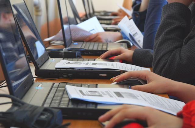 PC sales experienced annual growth for the first time in years