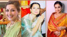 Ganesh Chaturthi 2020: Vidya Balan, Kangana Ranaut And Sonali Bendre Flaunt Their Traditional Sarees