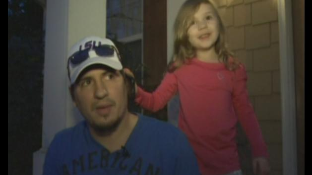 Three-year-old Georgia girl dials 911 and saves her dad