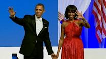 President, First Lady Dance at Commander-in-Chief Ball