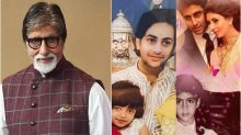 Amitabh Bachchan Wishes Fans on Raksha Bandhan, Shares Family Pics