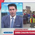 Newsmax host claims Derek Chauvin was 'sacrificed to the mob' as right-wing outlets accused of racism