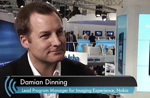 The Engadget Interview: Nokia Lead for Imaging Experience Damian Dinning at MWC 2012 (video)