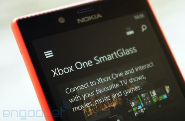SmartGlass for Xbox One reaches Windows Phone a few days early (update: Windows 8.1 too)