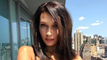 The Exciting Reason Bella Hadid Is Posing In A Bra On Instagram