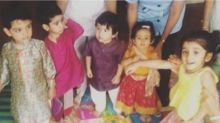 Taimur Ali Khan and Inaaya Naumi Kemmu Look Thrilled To Celebrate Navratri With Their Friend Laksshya - See Pic
