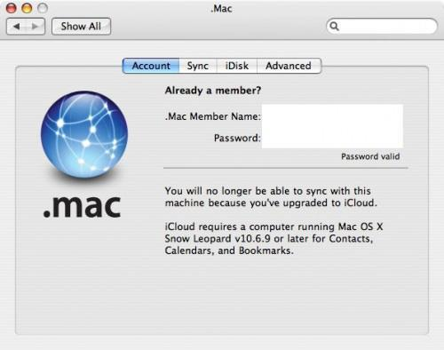 Snow Leopard to get iCloud support in 10.6.9 update?